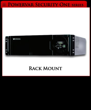 Powervar Security One Rack Mount